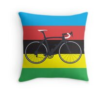 Bike World Champion (Big - Highlight) Throw Pillow
