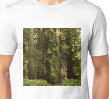 invisible man in a forest Unisex T-Shirt