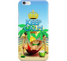 Keep Calm and...Relax on Hammock! iPhone Case/Skin