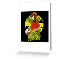 JAMAICAN REGGAE GIRL Greeting Card