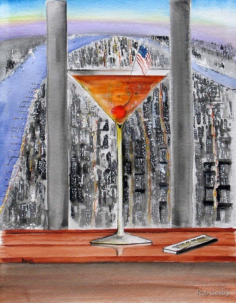 Here's Looking At You - A Tribute to 9/11 at Windows on The World Restaurant by Rob Beilby
