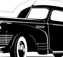 Retro limousine Sticker