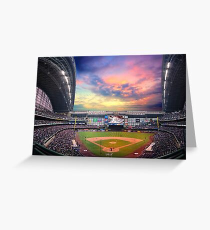 Late Afternoon Game Greeting Card