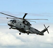 AgustaWestland Merlin HM2 by Barrie Woodward