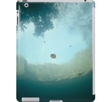 Autumn colours from below the water iPad Case/Skin
