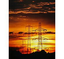Skyglow Photographic Print
