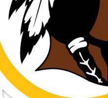 Redskins logo Sticker
