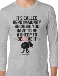 Herd Immunity Sheep Long Sleeve T-Shirt