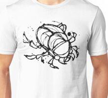Gothic Style Scarab Beetle  Unisex T-Shirt