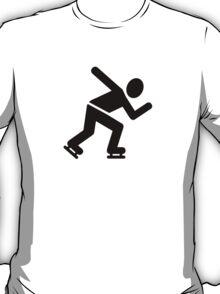Speed skating T-Shirt