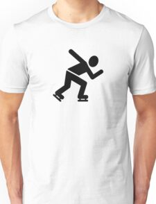 Speed skating Unisex T-Shirt