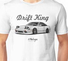 Nissan 240SX (white) Unisex T-Shirt