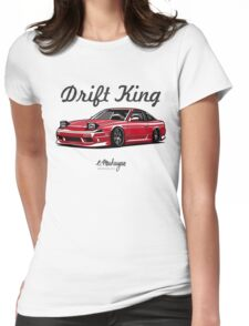 Nissan 240SX (red) Womens Fitted T-Shirt