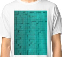 Pixel pattern green Classic T-Shirt