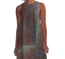 Ancient Texture A-Line Dress