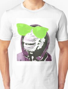 Chimps be Chillin - Green Glasses T-Shirt