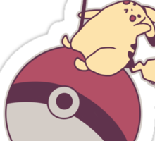 I Came In Like A Pokeball Sticker