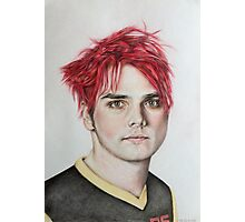 Gerard Way Photographic Print
