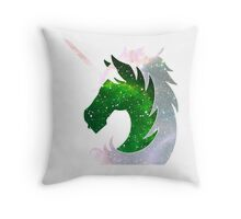 Space Police || Military Police logo Throw Pillow