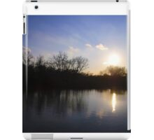 Challenge Memorial Park Sunset iPad Case/Skin