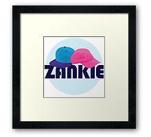 Zankie Framed Print