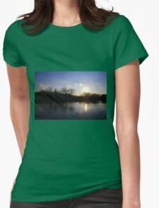 Challenge Memorial Park Sunset Womens Fitted T-Shirt