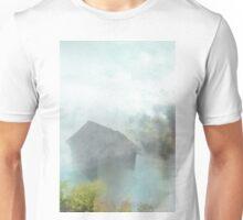 Maori village in Watercolor Unisex T-Shirt