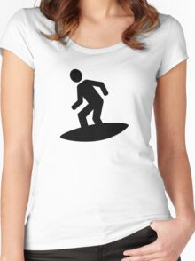 Surfer Women's Fitted Scoop T-Shirt