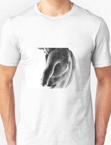 Melancholy, 2011, 100-70cm, graphite crayon Unisex T-Shirt