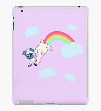 rainbow pug iPad Case/Skin
