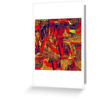 0381 Abstract Thought Greeting Card