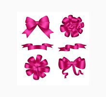 Bows and Ribbons Pink Set Unisex T-Shirt