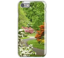 Azalea Gardens - Philadelphia - Pennsylvania - USA iPhone Case/Skin