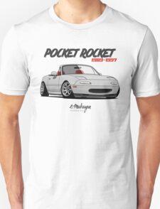 Mazda MX-5 Miata (white) Unisex T-Shirt