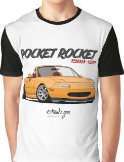 Mazda MX-5 Miata (yellow) Graphic T-Shirt