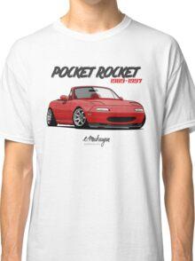 Mazda MX-5 Miata (red) Classic T-Shirt