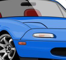 Mazda MX-5 Miata (blue) Sticker