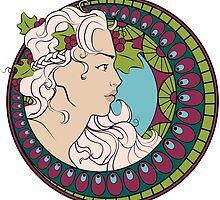 Art Nouveau by wallyhawk