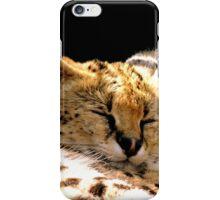Sleeping Serval iPhone Case/Skin