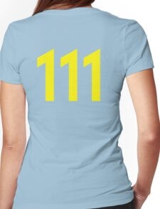 111 Womens Fitted T-Shirt