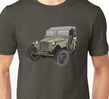 Retro army jeep Unisex T-Shirt