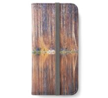 Mirror In The Lake (iPhone wallet) iPhone Wallet/Case/Skin