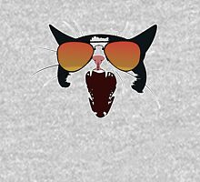 Cat with Orange Aviators Unisex T-Shirt