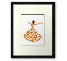 Belle Framed Print