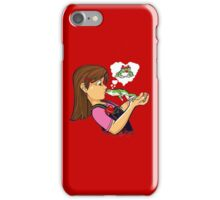 frog prince princess kiss  iPhone Case/Skin