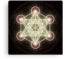 Metatron's Cube Canvas Print