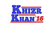 Khazr Khan - Support Gold Star Families Photographic Print