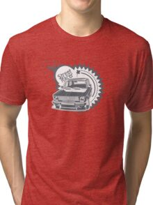 Custom Street Racers Car Tri-blend T-Shirt