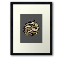 Neverending Fight Framed Print