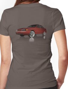 Car illustration Womens Fitted T-Shirt